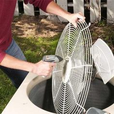 DIY Air Conditioner Repair  Our expert shows you how to repair the most common causes of central air conditioner failures.  Step 1: Make sure the problem isn't the furnace  Step 2: Clean or replace the contactor relay  Step 3: Replace the capacitor(s)  Step 4: Replace the fan motor and restart the A/C