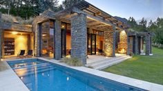 Kohara Lodge Otago New Zealand, contemporary   Wild Escapes