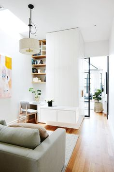 12 study nook ideas for your home - Arbeitszimmer Zuhause Small Space Interior Design, Decor Interior Design, Plywood Furniture, Office Furniture, Scandinavian Style Home, Scandinavian Office, Scandi Style, Study Nook, Design Typography