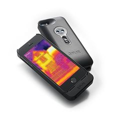 FLIR ONE - Infrared Accessory - fits Apple iPhone 5/5s - See the Heat - (Space Gray)  Price : $349.00 http://shop.flir.com/FLIR-ONE-Infrared-Accessory-iPhone/dp/B00K0PXFB6