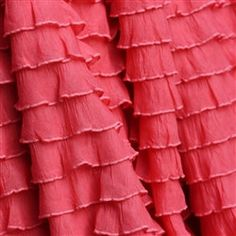Custom Ruffled Curtain Valance Coral or You by avisiontoremember, $13.00