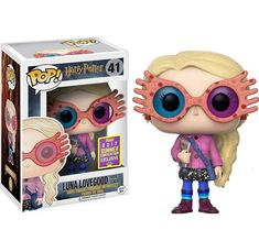Funko Pop SDCC 2017 Harry Potter's Luna Lovegood Limited Edition Summer Convention Exclusive -- To view further for this item, visit the image link. (This is an affiliate link) Harry Potter Pop Figures, Harry Potter Pop Vinyl, Harry Potter Toys, Harry Potter Quidditch, Harry Potter Characters, Harry Potter Products, Luna Lovegood Funko Pop, Collection Harry Potter, Funko Pop Dolls