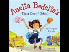 The New York Times bestselling picture book! Amelia Bedelia goes to school and mixes up just about everything in this funny picture book about the childhood of the iconic character. The first book in BOOKS 4 First Day School, Beginning Of The School Year, New School Year, School Fun, Back To School, Starting School, School Stuff, School Days, Teaching Reading