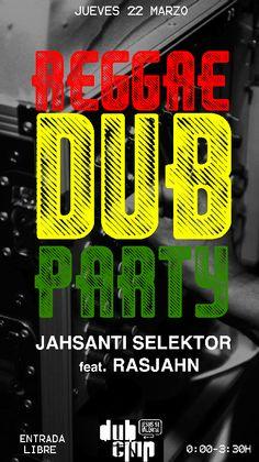 Reggae Dub Party @Dub Club