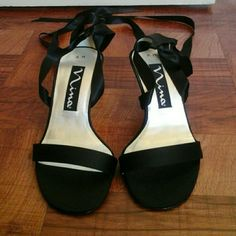 black luster satin new, with original box, made in Spain nina Shoes