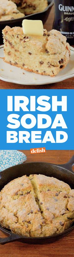 This Irish Soda Bread has a super sweet ingredient swap. Get the recipe on Delish.com.