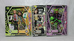 Monster High Doll Deuce Gorgon Cleo de Nile Clawdeen Jackson