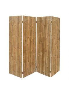 Kamerscherm Bamboo - bamboehout, Silva Outdoor