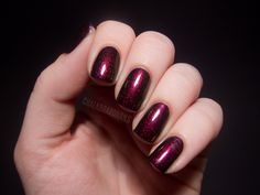 Chalkboard Nails: Clarins 230 and Illamasqua Baptiste