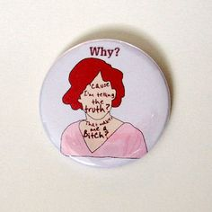 The Breakfast Club Molly Ringwald Movie Quote Pin by swelldameinc, $3.00