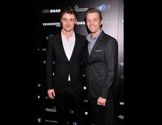 "Max Irons and Jake Abel star in ""The Host."""