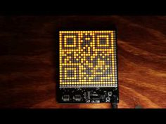 The QR code clock - scan for the time