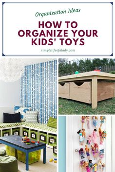 organizing your kids' toys