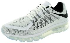 Nike Air Max 2015 Men's Running Sneaker white-black ★ http://newproductsite.com