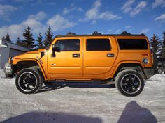 orange hummer | 2006 H2 Hummer SUV Fusion Orange Limited Edition Vehicle Specification