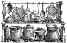 KITCHEN UTENSILS FOUND AT POMPEII