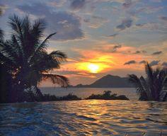 Sunset in Manzanillo Mexico.