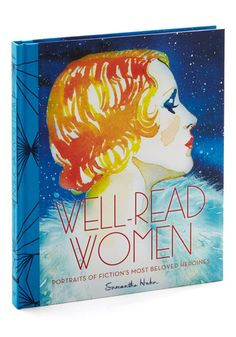 Well-Read Women by Chronicle Books - Multi, Novelty Print, Vintage Inspired, 20s, 30s