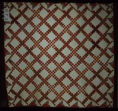DOUBLE IRISH CHAIN ..........PC Irish Chain Quilt, Traditional Quilts, Sweet Tea, Quilt Blocks, Louis Vuitton Damier, Pattern, Patterns, Model, Swatch