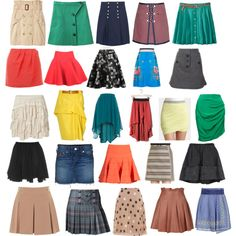 """""""SN short skirts"""" by lightspring on Polyvore"""