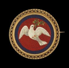 Brooch      about 1860       Rome, Italy