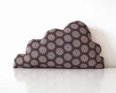 Cloud Cushion Shweshwe Hand Sewn for by TheFoxintheAttic on Etsy, £21.00