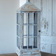 HUGE Distressed Birdcage from Antique Farmhouse