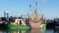 visserskotter in Terschelling haven.