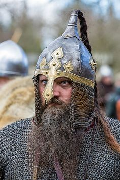 Jorvik Viking Festival 2015 | Scary Viking - I think this is… | Flickr
