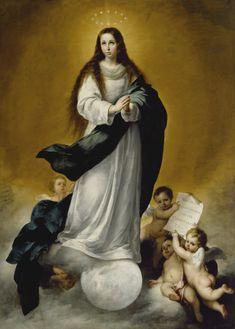 Bartolmé Esteban Murillo  The Virgin of the Immaculate Conception.