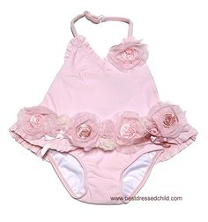 Khloe in pink flowers would be so cute!