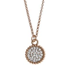 SNÖ Of Sweden - Versaille Pendant Necklace 42 Rose Clear - 592-0601255  Jewelry 40cbd45f2a1c0