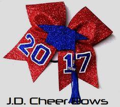 The Original 3D 2017 Graduate/Tassel Bow-Choose your Colors, Graduation Bow, Graduate Bow, Senior Bow, Senior Cheer Bow, Grad Bows