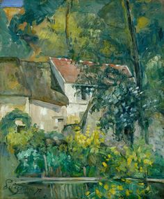 "thusreluctant: "" House of Père Lacroix by Paul Cézanne """