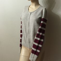 AX Zip Up Jacket Really cute warm zip up jacket wore about 3 times great condition! Armani Exchange Jackets & Coats