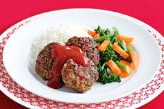 Lamb, spinach and tomato rissoles main image