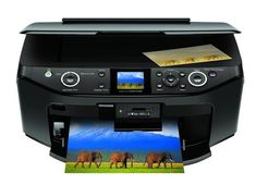 The Epson Stylus Photo has a large flatbed scanner you can utilize to scan flat things and pages from bound books, something you can't make with a page-fed Portable Printer, Printer Driver, Bound Book, Mac Os, Stylus, Epson, Software, Juices, Reading