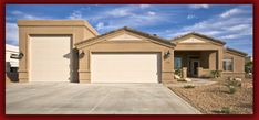 Front walkout basement with arched front porch walkout for Basement homes in az