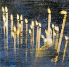 frank brunner, kristiansand Kristiansand, Candles, In This Moment, Painting, Objects, Eye, Kunst, Painting Art, Candy