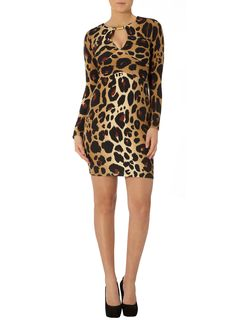 Kardashian animal bar dress  #DPKK