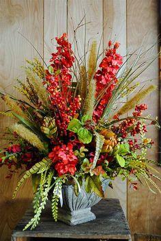 Inexpensive Flower Arrangements, Artificial Floral Arrangements, Fall Flower Arrangements, Silk Floral Arrangements, Flower Centerpieces, Artificial Flowers, Church Flowers, Fall Flowers, Daisy Flowers