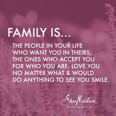 Quotes About The Importance Of Family Prepossessing What Makes You Family  Pinterest  Tiny Buddha Acceptance And Trust