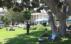 Lunchtime on the SBCC campus