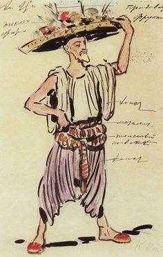 Константин Коровин. Рисунки для балета.