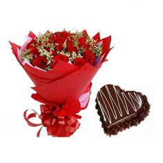 Gift From Heart Send Flowers Order Online Birthday Cake