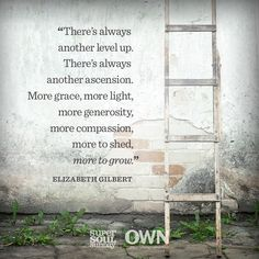 Elizabeth Gilbert reminds us that we are never truly stuck where we are.