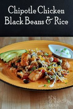 Super easy one pot meal: Chipotle Chicken, Black Beans and Rice - The Creekside Cook
