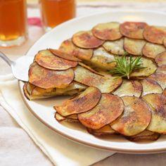 Potato and Leek Galette