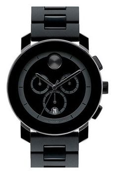 "Movado ""bold chrono"" watch: Lucky Magazine"