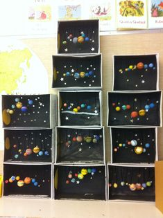 Encouraging your child with DIY solar system crafts, activities and decorations would be a great way to help them explore. With various grade and project on solar system for class here are some ideas. Solar System Activities, Solar System Projects, Space Activities, Space Crafts For Kids, Art For Kids, Preschool Art, Preschool Activities, Colegio Ideas, Make Your Own Game